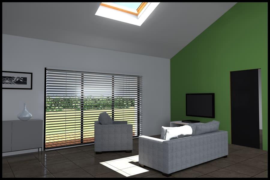 gt plans dessin 3d interieur maison à Treillieres