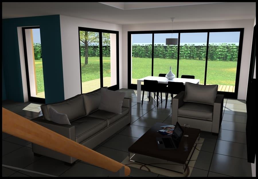 gt plans dessin 3d interieur maison à Nantes