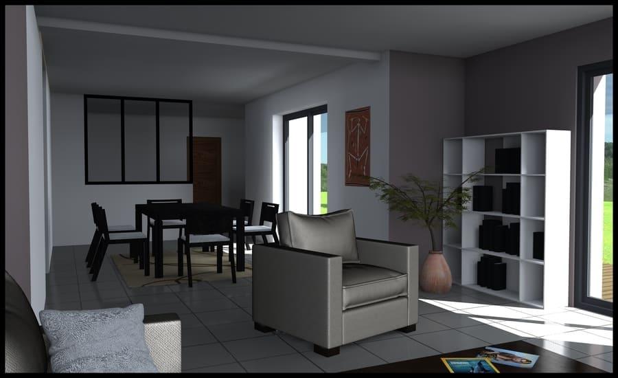 gt plans dessinateur plan 3d intérieur appartement à Nantes