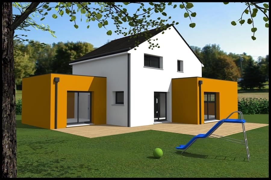 gt plans dessin plans 3d maison moderne en Loire Atlantique