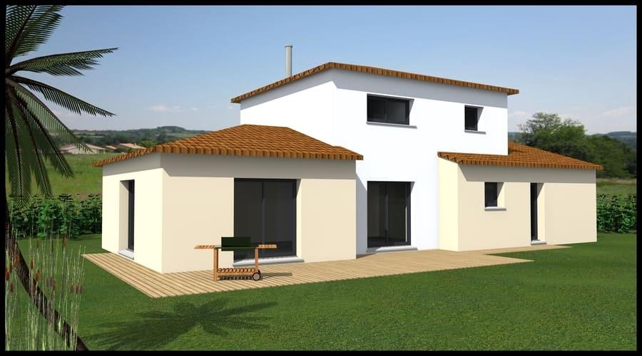 gt plans dessin plans 3d maison traditionnelle en Loire Atlantique